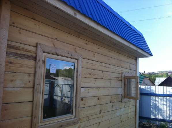 Продаем брусовые бани под ключ в Красноярске фото 8