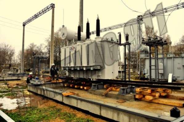 Такелаж трансформаторов(демонтаж, ПРР, перемещение по ПС)