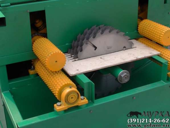 Многопильный станок дисковый Тайга СМД-2 (электрический)