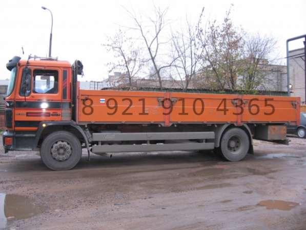 Грузоперевозки открытый бортовой грузовик 6м 10т Спб