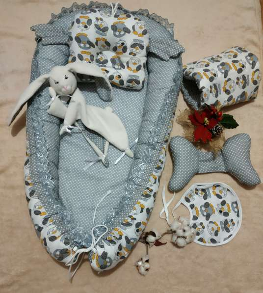 Кокон для новорожденного набор в Краснодаре фото 6
