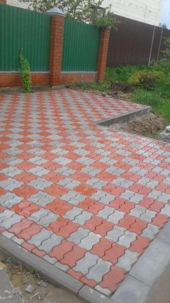 Тротуарная плитка под ключ в Егорьевске фото 6