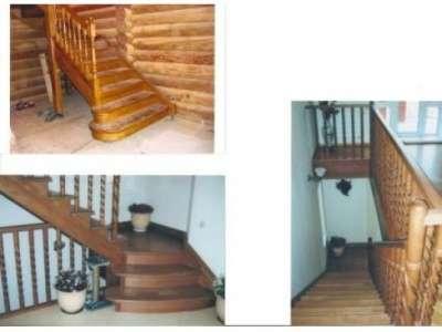 Дубовая ступень,площадка,мебельный щит stairways