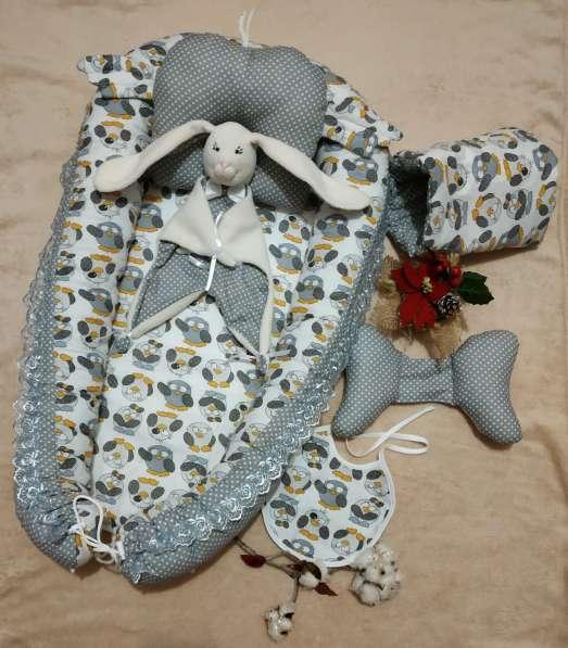 Кокон для новорожденного набор в Краснодаре фото 11