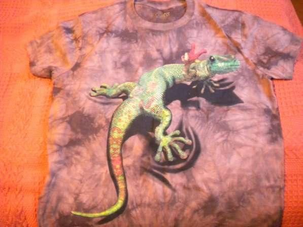 Мужская футболка новая с 3D эффектом