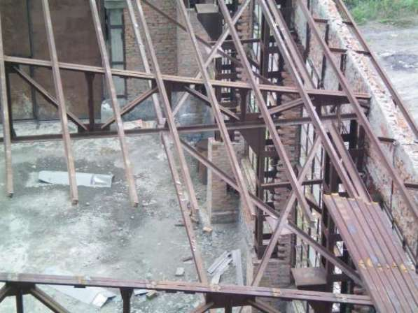 Промышленный демонтаж металлоконструкций