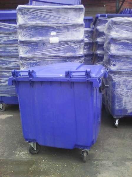 Пластиковый Евроконтейнер 1100 литров