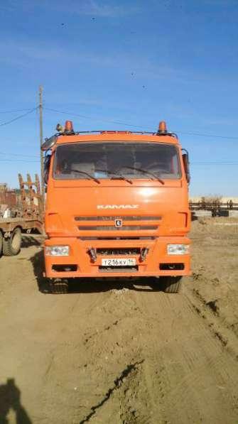 седельный тягач КАМАЗ 6460
