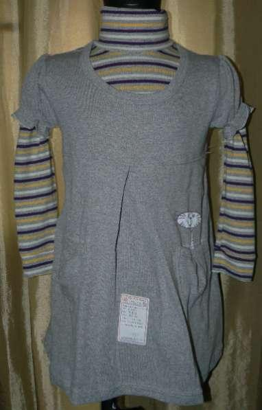 Платья, Тунички, комплекты новые для девочек с этик