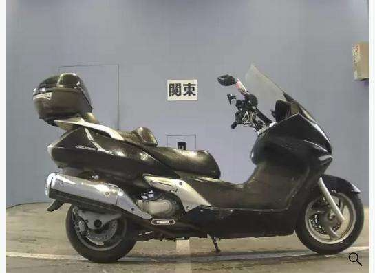 Макси скутер Honda silverwing 400