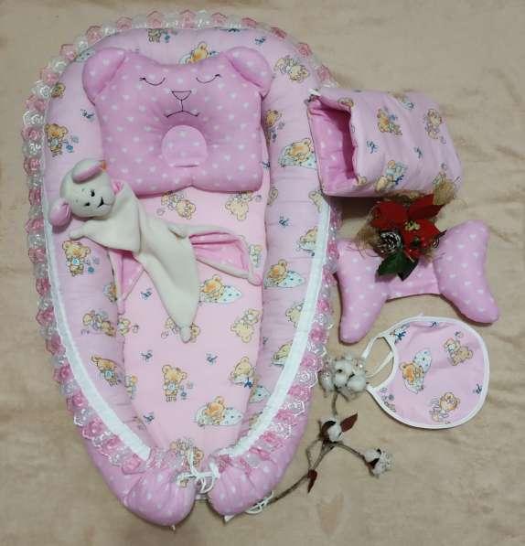 Кокон для новорожденного набор в Краснодаре фото 3