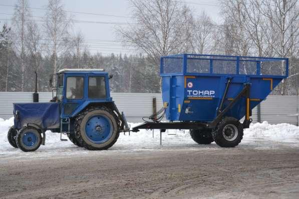 Прицеп тракторный Тонар ПТС-9 в Москве