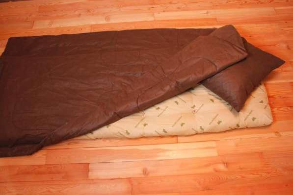 Матрац, подушка, одеяло, постельное белье