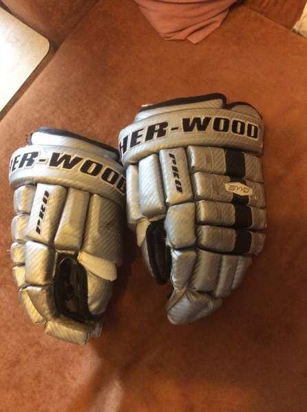 Хоккейные краги Sher-wood