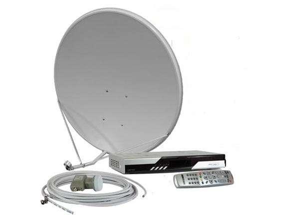 Установка спутникового телевидения цена в Харькове