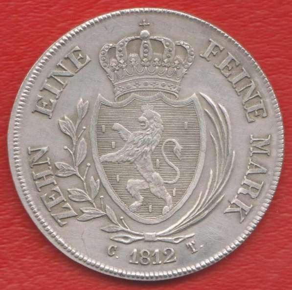 Германия Герцогство Нассау талер 1812 г. №1