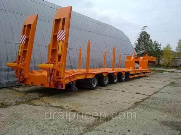 Продажа полуприцепов низкорамных минимальные цены 4-осный 50 тонн,подвеска пневматическая Германия