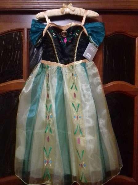 Платье Анны коронация Холодное сердце Дисней оригинал США
