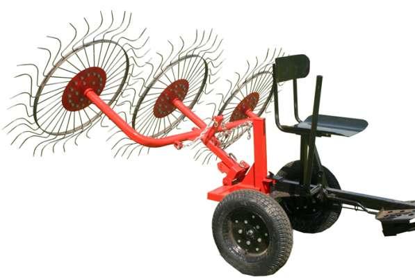 Ворошилка колесно-пальцевая ВМ-3