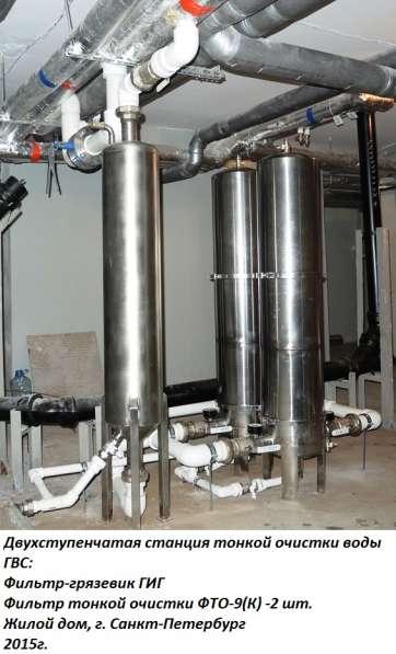 Очистка и подготовка воды
