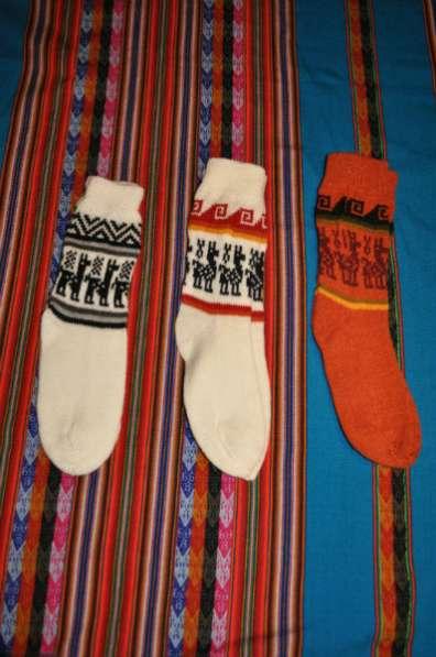 Носки из шерсти высокогорных животных