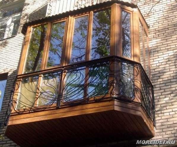 Утепление балконов пластиковые окна двери, Балконы под ключ