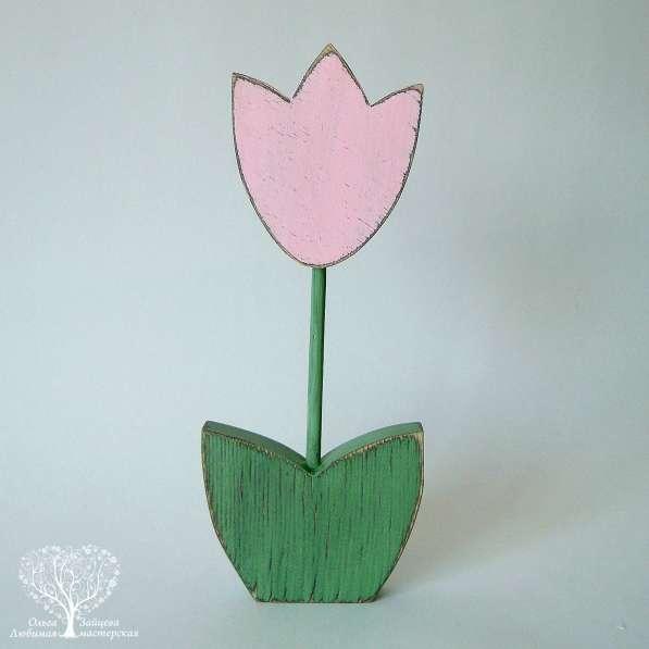 Интерьерный цветок с гравировкой в Тольятти фото 4