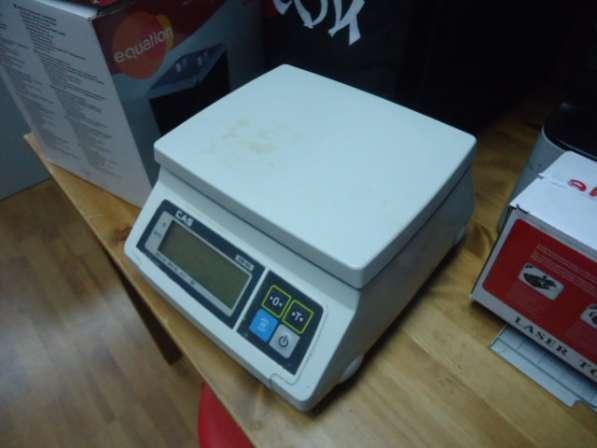 Весы электронные порционные автономные CAS SW-5