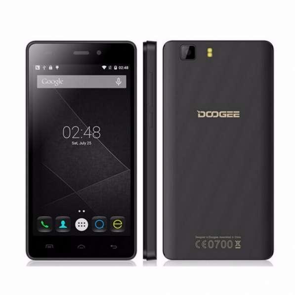 Мобильный телефон DOOGEE X5, экран 5.0 дюймов, новинка 2016