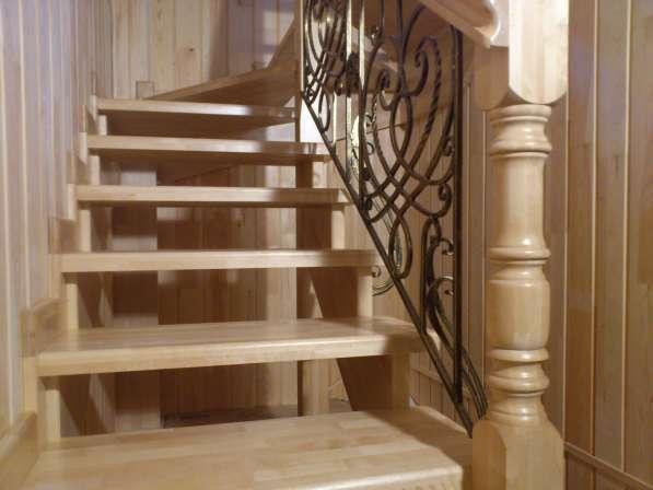 Соберу лестницу в срубе или доме