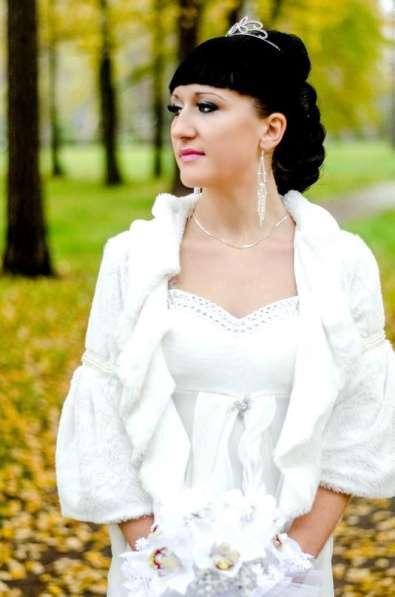 Шубку на свадьбу, платье