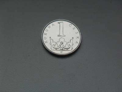 Монета 1 Крона 2006 год Чехия