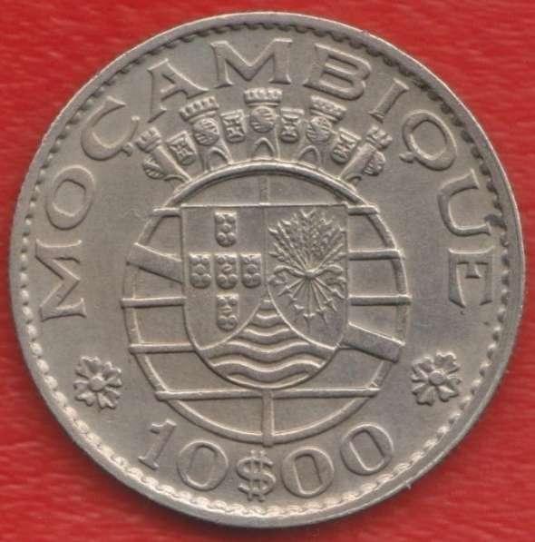 Мозамбик Португальский 10 эскудо 1970 г