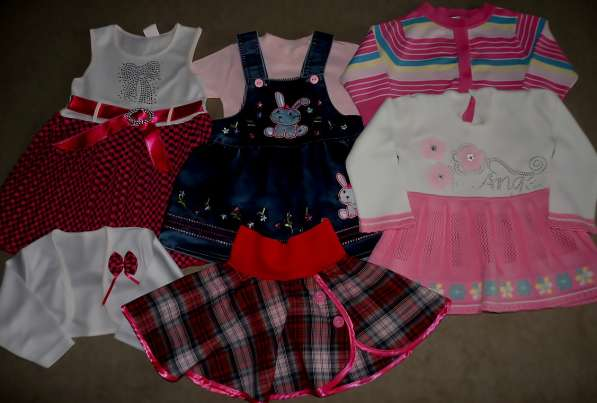 Вещи на девочку (от 5 месяцев до 1 года)