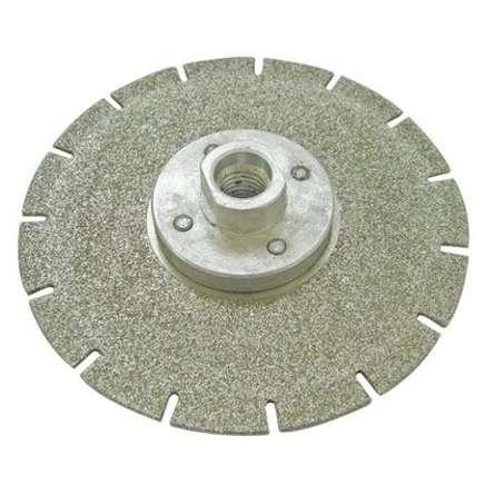 Круг алмазный (EDL40C125) для резки и шлифовки мрамора М14 диам. 125мм