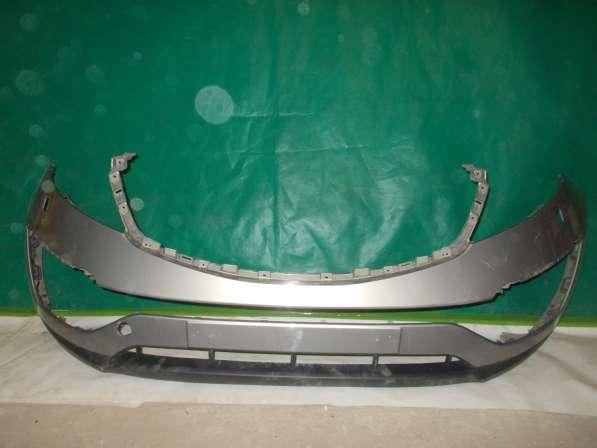 Передний бампер на Kia Sportage 3