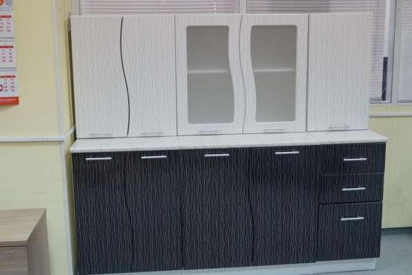 Кухня Волна Черно-белый дождь 1,6 м