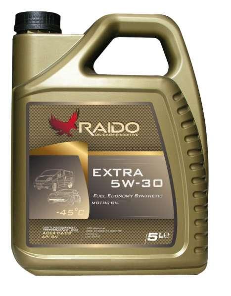 RAIDO Extra 5W-30 синтетическое универсальное моторное масло