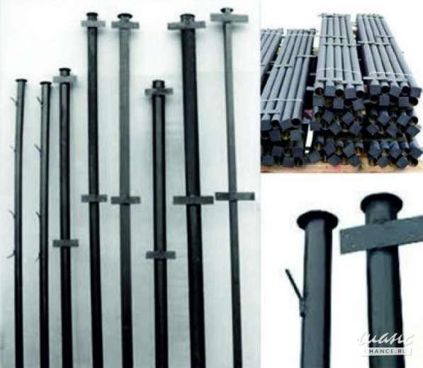 Металлические столбы
