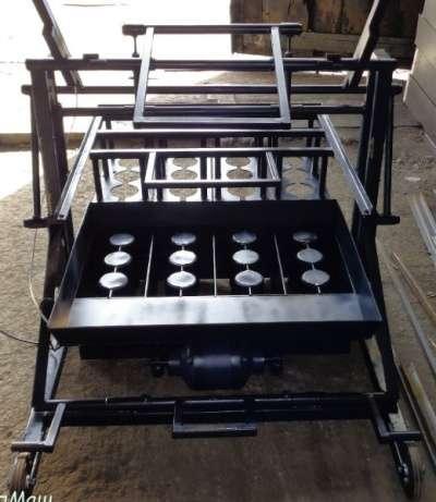 станок для производства блоков ВСШ