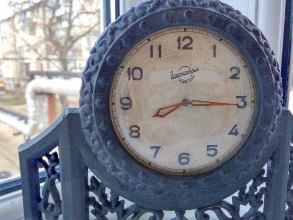 Часы художественное чугунное литьё, СССР