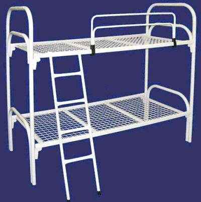 Металлические кровати для вагончиков, кровати одноярусные, кровати армейские, кровати для общежитий, кровати для больниц, кровати двухъярусные лагерей. Опт.