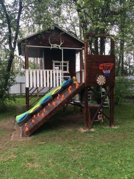 Постройка детских площадок в Раменское