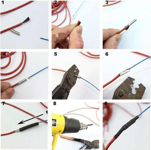 ✔ ✔ ✔Нагреватель для инкубатора карбоновый кабель в силиконе в Астрахани фото 4