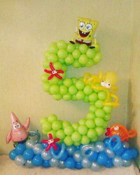 Гелиевые шары и фигуры из шаров