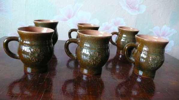 Керамические чашки