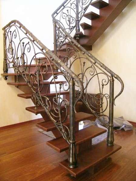 Кованые лестницы в Воронеже фото 5