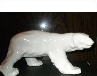 Куплю Куплю фигуру Белый полярный медведь. ЛФЗ
