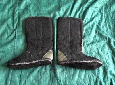 Вкладыши в сапоги зимни очень тёплые Б/У