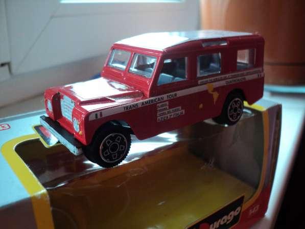 Масштабная модель автомобиля LAND ROVER